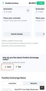 Position Exchange Telegram Airdrop
