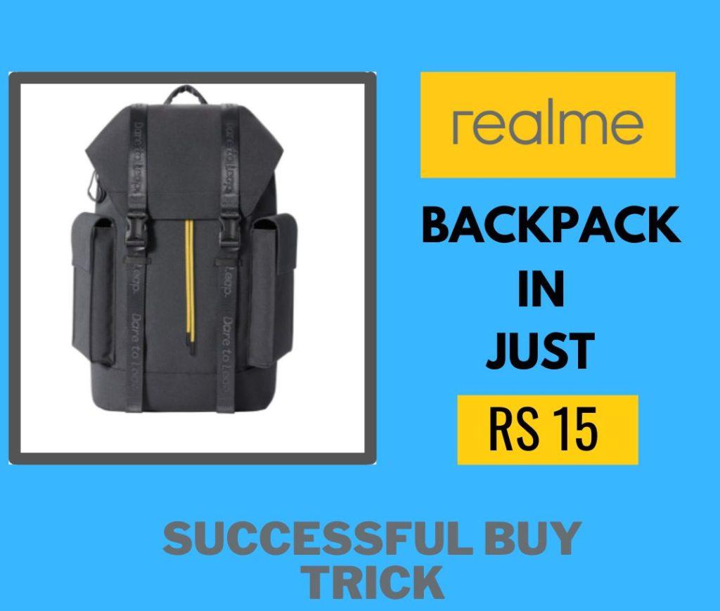 Realme Backpack Successful Buy Trick Script