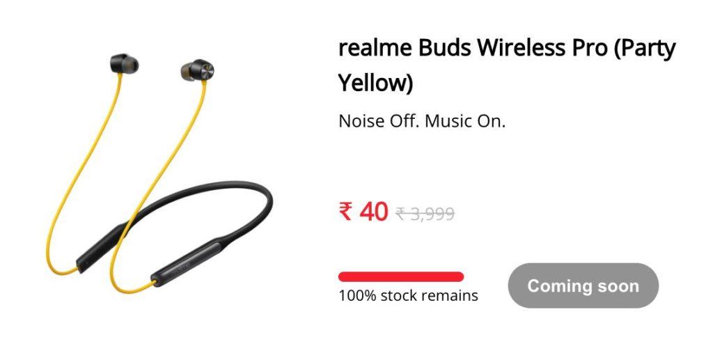 Realme Buds Wireless Pro Successful Buy Trick