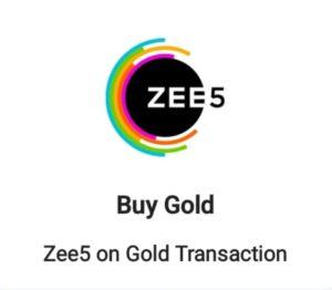 Mobikwik Zee5 Gold Transaction Offer