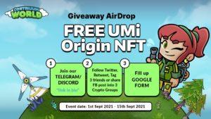 Continuum Airdrop UMi Origin NFT Free