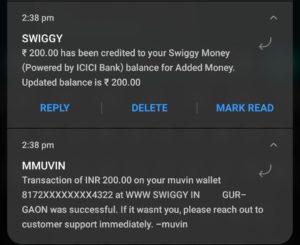 Muvin App Refer Earn