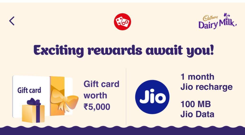 Jio Desserts Corner Game - Win Upto 1 GB Data Daily   Assured Winning