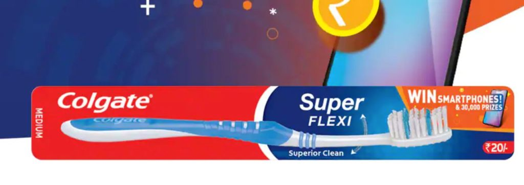 Colgate SuperFlexi Scan Offer Page
