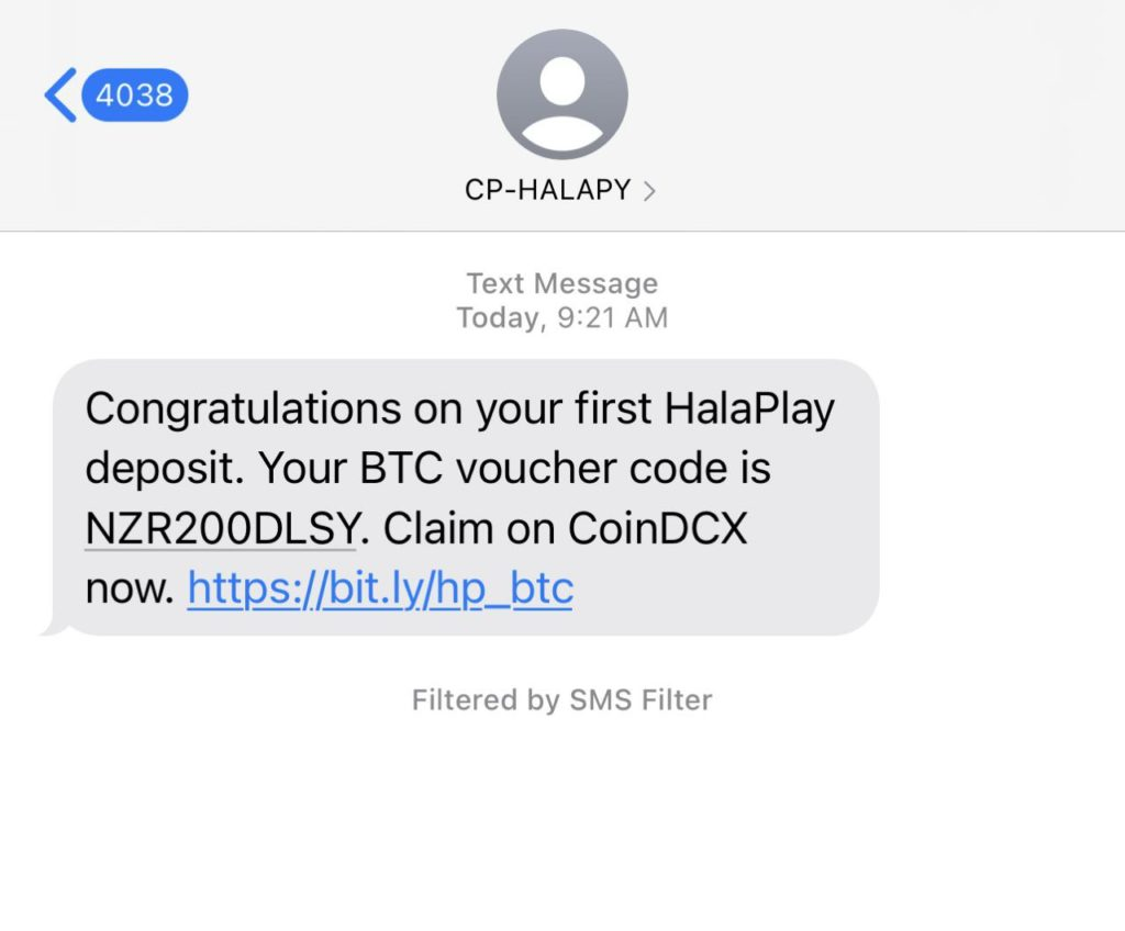 CoinDCX Halaplay Coupon Loot Offer