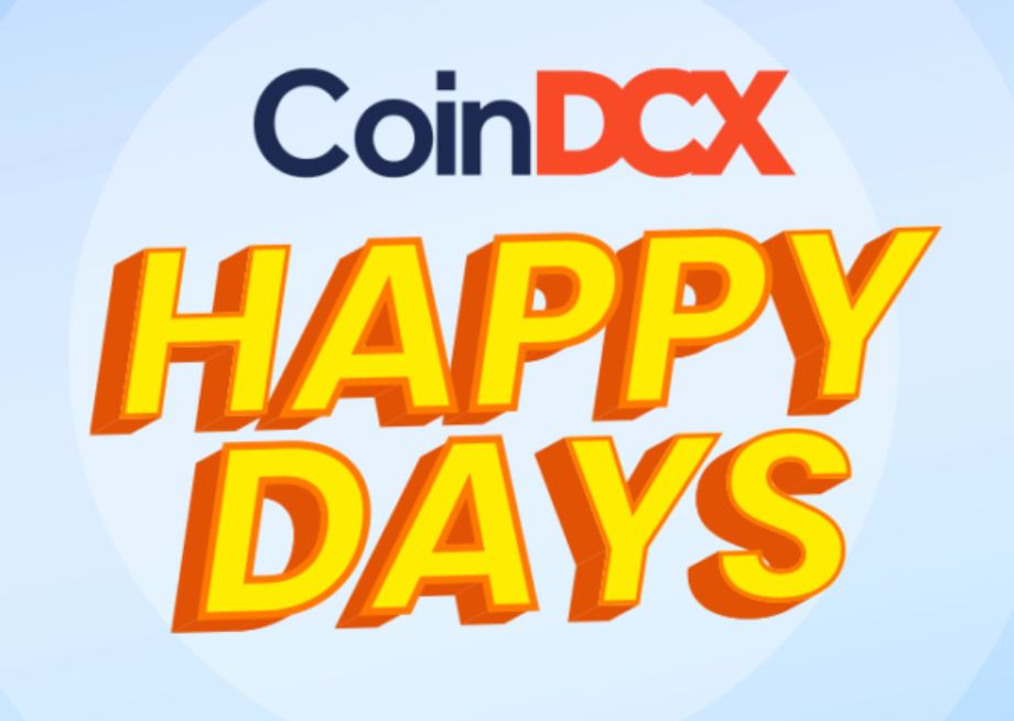 CoinDCX Happy Days Rewards : Get Upto ₹100000 Free With Coupon Code Of CoinDCX