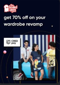CRED The Souled Store Loot