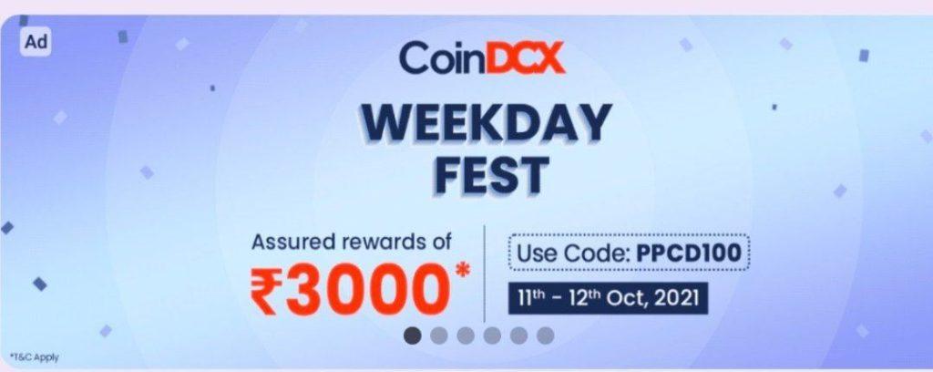 coinDCX coupon code