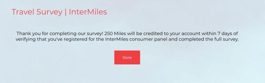 Free Intermiles Miles